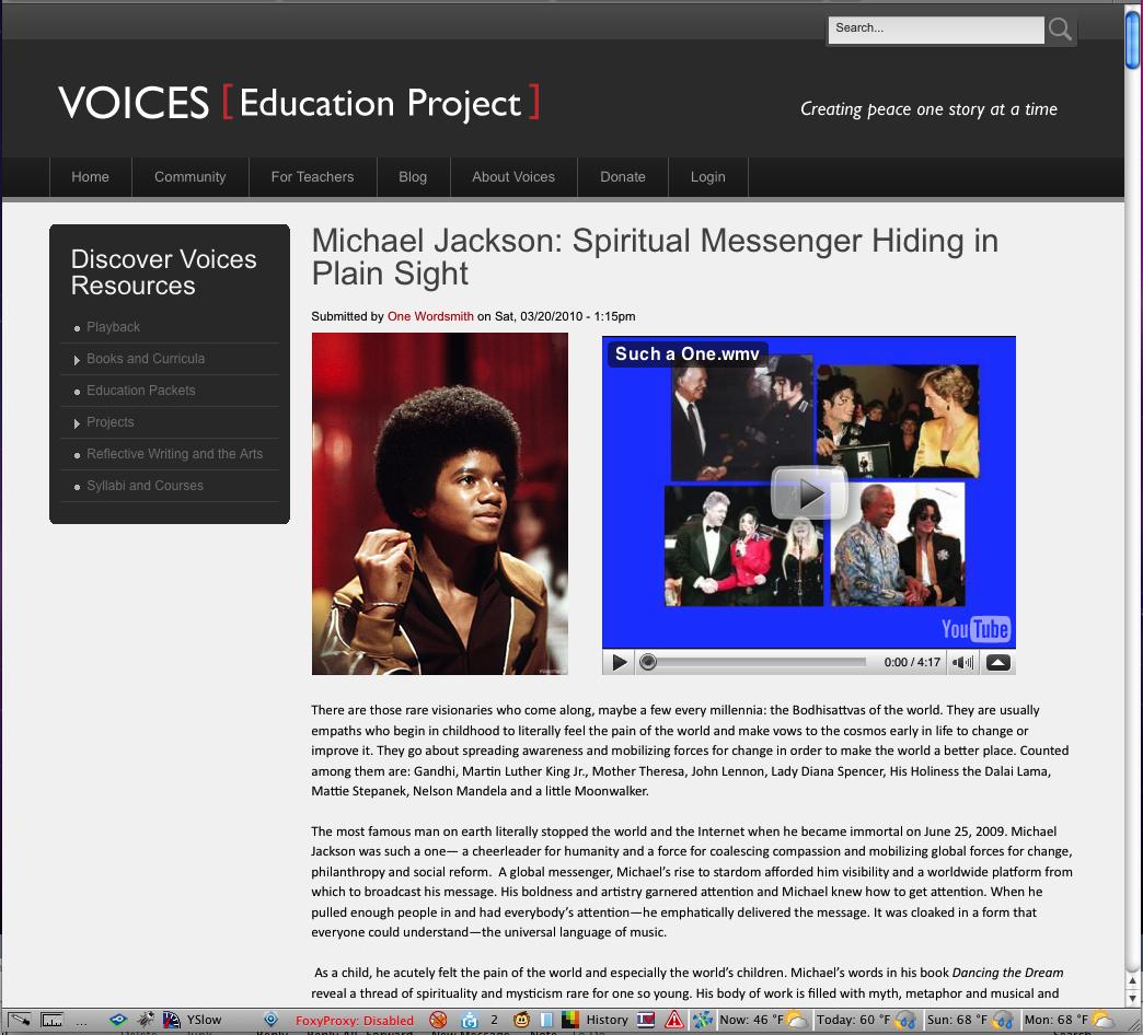 Inner Michael » Spiritual Messenger Hiding in Plain Sight