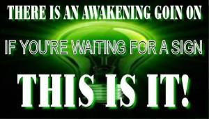 sign awakening