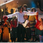 Mj w kids Earth Song performance
